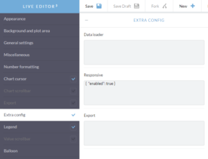 Enabling responsive features in Live Editor