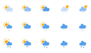 SVG weather icons